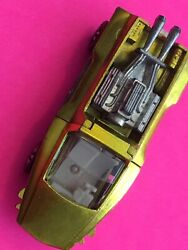 Vintage Hot Wheels Red Line Hairy Hauler Yellow Gold White Interior