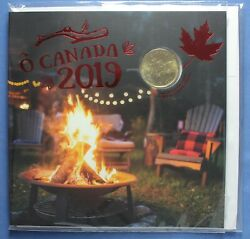 Canada 2019 - Oh Canada Gift Set - With Special Engraved Loonie 1