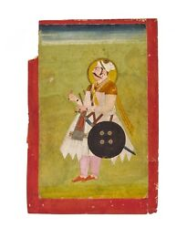 An Antique 18th/19th Century Indian Miniature Painting