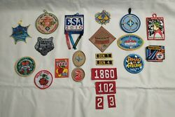 Lot Of 22 Boy Scout And Cub Scout Patches Badges 2000and039s