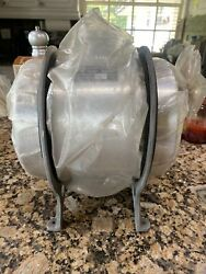 Vintage Brand New Nos Moon Gas Tank 2 Gallon With Brackets And Cap