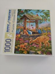 Bits And Pieces 1000 Jigsaw Puzzle Wishing Well Cory Carlson