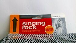 Singing Rock Sit Work Speed Lock Harness Zenith Size Xl Extra Large Nwt