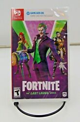 Fortnite The Last Laugh Bundle Nintendo Switch New And Sealed