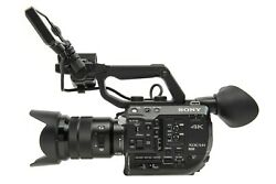 Sony Pxw-fs5 Xdcam Super 35 Camera System And Sony 18-105mm Zoom Lens
