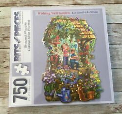 New Bits And Pieces 750 Piece Puzzle Shaped Wishing Well Garden Brand