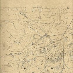 Somers Lewisboro Granite Springs Ny 1911 Maps With Landowners Names Shown