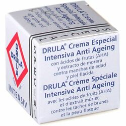Drula Intensive Anti Ageing Cream Age Spots Wrinkles Plant Extract Vitamin