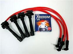 Red Spark Plug Wires W/ngk 94-97 Toyota Celica Wt7