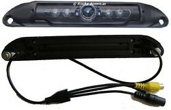 Ccd License Plate Wide Angle 150 Degree Rear View Backup Camera Ir Infrared Leds