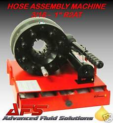 HYDRAULIC HOSE ASSEMBLY SWAGING MACHINE MOBILE 1