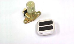 Dimmer Sstreet Rod Gm Floor Mount Dimmer Switch Kit W Polished Aluminum Foot Pad