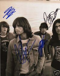 Kings Of Leon Signed 8x10 Photo In Person W/proof