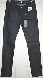 NWT Girls Designer 7 FOR ALL MANKIND Gray Jeans Size 10