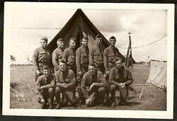 Original Photo Wwii Soldier Camp Ripley Little Falls Mn