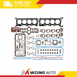 Full Gasket Set Fit Ford F150 E150 Expedition Mustang 4.6l Sohc Silicone