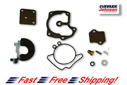 New Johnson Evinrude Oem Outboard Carb Kit With Float 439079 Brp/omc Carburetor