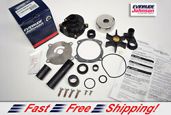 New Johnson Evinrude Oem Outboard Water Pump Kit 5001595 W Housing Brp/omc