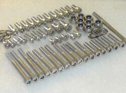 Yamaha Rd350 Ypvs 1983-86 Engine Covers 39-pcs Stainless Allen Bolts And Nut Kit