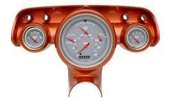 1957 Chevy Bel Air Classic Instruments Gauge Cluster Curved Glass Ch01gslc Gray