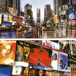 48wx24h Evening In Times Square By Matthew Daniels - New York Manhattan Canvas