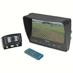 Cabcam Ctb7m1c Tractor Video System Touch Button 7 Color Monitor / 1 Camera