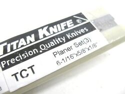 6-1/16 X5/8 X1/8 Carbide Tipped Planer Jointer Knives Jet Jj-6 Powermatic 54a
