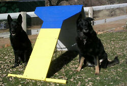 Dog Agility Equipment Contact Trainer A-Frame/Dog Walk