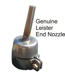 Genuine Leister Pipe Nozzle 5mm - Standard End Nozzle 100.303