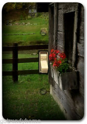 Country Lanscape Flower Floral Metal Switch Plate Cover Single Home Decor 324