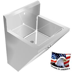 Surgeon's Chassis Hand Sink 1 Station Sink Only 24 Stainless Steel Hands Free