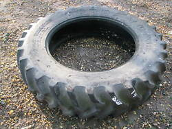 1 - 14.9x34 Goodyear Tractor Tire Vg 70 Used 14