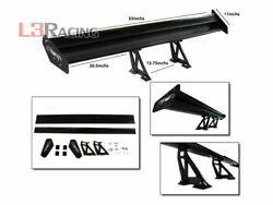 RTUNES RACING GT Type V BLACK Adjustable Aluminum Spoiler Wing For Ford