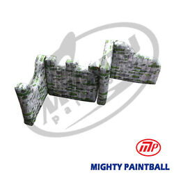 Mighty Paintball Air Bunker Inflatable Bunker - Zag Shape Mp-sb-wp04