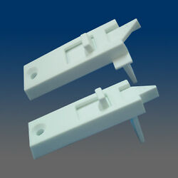 4 Sets Left And Right Of White Window Sash Tilt Latches 2803white