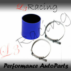 Blue 2.75 70mm 3-ply Silicone Coupler Hose Turbo Intake Intercooler Vw