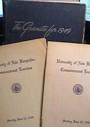 Rare 1949 University Of New Hampshire Yearbook/annual Durham Nh Very Good Cond