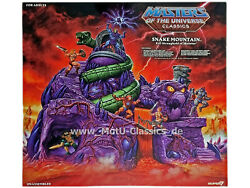 Snake Mountain Playset Spielset Masters Of The Universe Classics Super 7 Neu Ovp