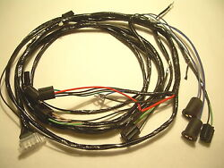 1961 Impala Belair Biscayne Forward Front Light Wiring Harness 283 348 409