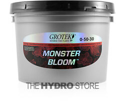 Grotek Monster Bloom 2.5 KG - booster flower enhancer hydroponic nutrient 2.5kg