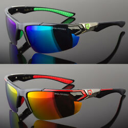 Men Polarized Fishing Golf Hunting Sport Sunglasses Green Blue Red 5 Colors $14.29