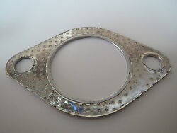 2 Pcs 2 Exhaust Gasket 2 Bolt For Cat-back Pipe Downpipe Headers
