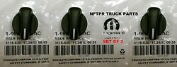 🔥1998-2003 DODGE RAM VAN  AC HEATER CONTROL KNOB  NEW MOPAR OEM SET 0F 3 KNOBS