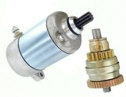 Starter And Drive Combo Fits Polaris Atv Sportsman 500 Ho Duse Freedom Rse Touring