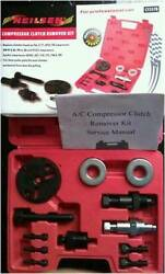 Compressor Clutch Removal Kit - Autos AC Air-Conditioning Units Service Tools