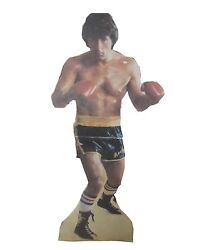 Rocky Sylvester Stallone Signed Life Sized Standee Jsa Loa Autograph Rare 1/1