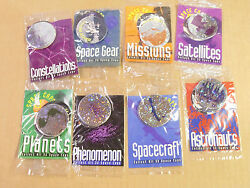 Space Caps/pogs C/s Of All 32 By Long John Silvers Still In Wrap Awesome Rare