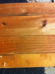 Salvaged 100yr Old Pine Tongue Grooved Wood 3 In To 6 In Wide.