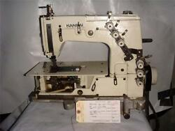 Kansai Special Dlr-1503, 3 Needle Chainstitch Machine With Puller Tag3840