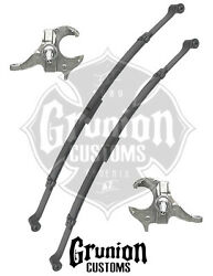 Mcgaughys Chevy S10 2/3 Lowering Kit 1982 - 2003 Spindles Leafs 93105
